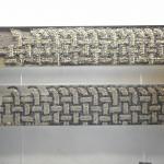 TETE DE LIT  Tresses Romaines  20 X 120 cm