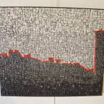 PAESE DI PIETRE DURE    45 X 38 cm  Granits/Emaux