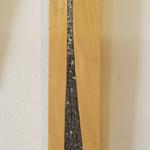 DEGRADE BOIS   12 X 89 cm   Granit Noir
